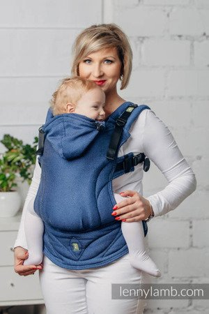 Lenny Lamb My first baby carrier Kobalt
